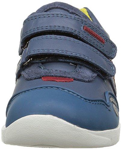 Biomecanics 151182, Chaussures de fitness outdoor garçon Bleu - Bleu (Vaquero)