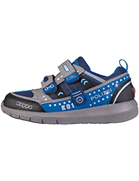Kappa Unisex-Kinder Polizei Ii Kids Low-Top
