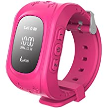Prixton Watchii G100 - Reloj localizador infantil GPS, rosa