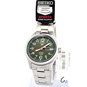 Seiko SRP271J1 Montre bracelet Homme, Acier inoxydable, couleur: argent