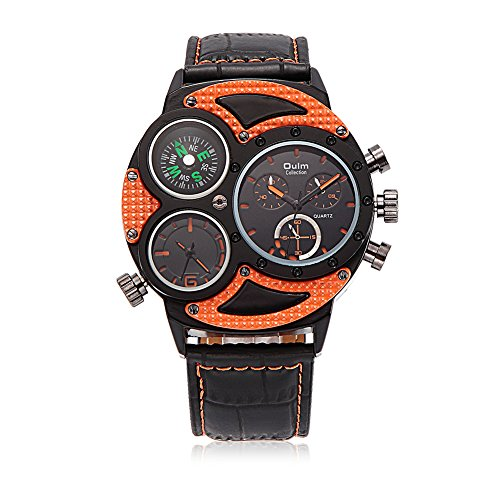 hongboom-luxury-genuine-leather-band-two-movement-compass-orange-wrist-watch-mens-casual-business-an