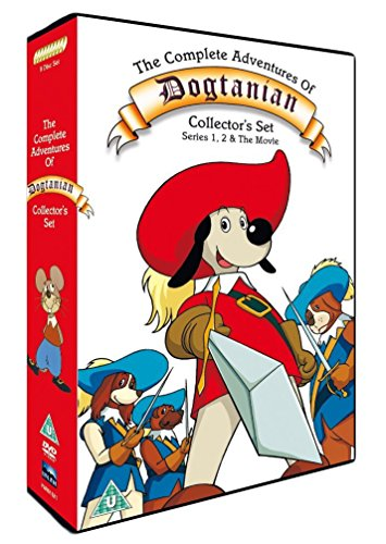 The Complete Adventures Of Dogtanian (8 DVDs)