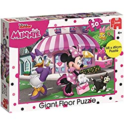 Disney 19656 Happy Elfes Minnie Mouse - Puzzle de Sol géant