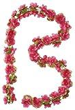 Basil Blumengirlande Flower Garland, Fuchsia, One Size, 50180