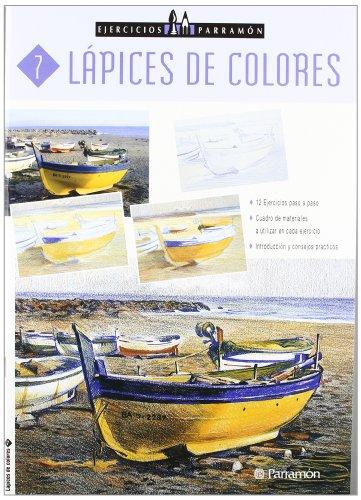 EJERCICIOS PARRAMON LAPICES DE COLORES (Ejercicios parramón) por EQUIPO PARRAMON