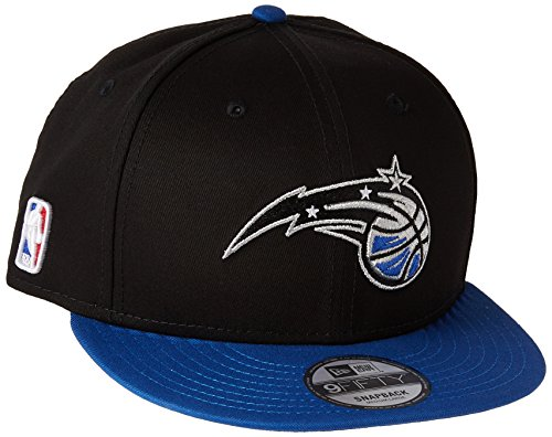 New Era Herren Baseball Cap Nba 9Fifty Orlando Magic Offical Team Colour, Schwarz, Medium