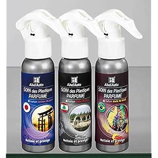 Abel Auto 3Polierspray für Armaturenbrett, Kunststoffpflege mit Duft