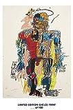 Lost Poster seltene Poster Kunst Jean-Michel Basquiat Selbst Hochformat Nachdruck # 'D/100. 12x 18
