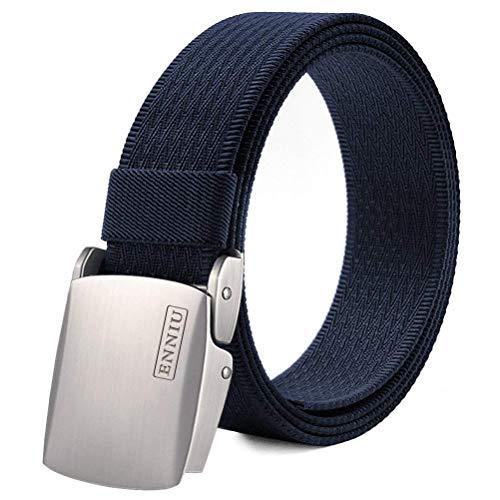 Fairwin Cintura Tattica Tela Stile Militare da Uomo Tessuto Nylon Cintura con Fibbia Confezione Regalo