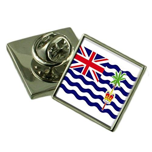 Britisches Territorium im Indischen Ozean Anstecknadel Abzeichen graviert personalisierten Box