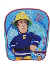 Fireman Sam Sac à dos enfants, bleu (Bleu) - SAM001040