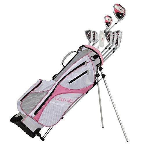 GolfGirl-FWS3-Ladies-Complete-All-Graphite-Golf-Clubs-Set-with-Stand-Bag