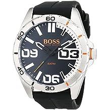 314d90d24b0d Hugo Boss Orange Homme Analogique Quartz Montres bracelet avec bracelet en  Silicone - 1513285
