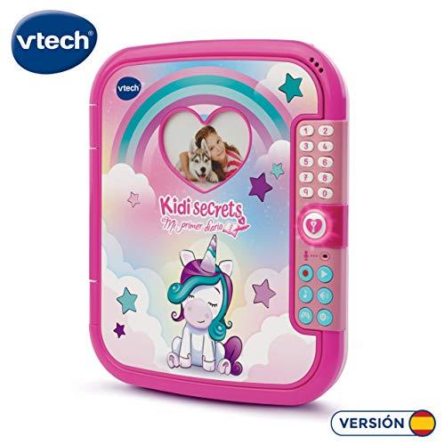 VTech-193022 Kidisecrets, mi Primer Diario electrónico Interactivo, Color (3480-193022)