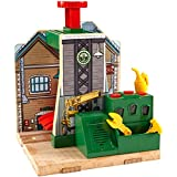Mattel Fisher-Price CDK46 - Thomas y sus amigos Lokwerkstatt - madera