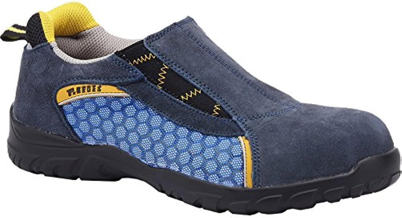 Pacal Shoes - Zapatilla Seguridad Magnesio Azul 41 Sp5014Az