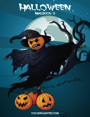 Hoch Halloween (Halloween Malbuch 2)