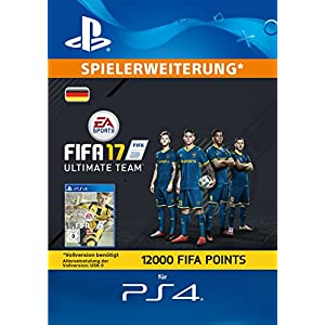 FIFA 17 Ultimate Team – 12000 FIFA Points [PlayStation Network Code – deutsches Konto]