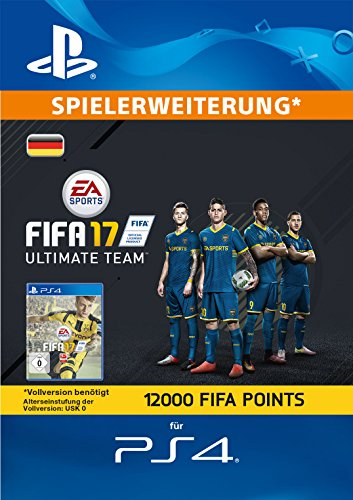 m - 12000 FIFA Points [PlayStation Network Code - deutsches Konto] (Fifa Ultimate Team Spieler)