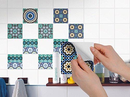 Piastrelle decorazione design adesivo | Adesivi sticker autoadesivi ...