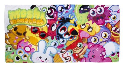 Image of Moshi Monster Moshlings Beach Towel