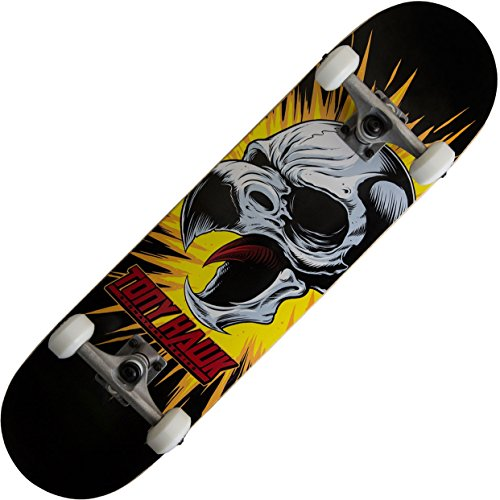 Tony Hawk 360 Series Complete Skateboard - Screaming Hawk Black