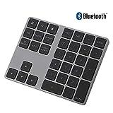 VBESTLIFE Tastierino numerico Bluetooth, tastierino numerico in Alluminio Tasti 34 Tastiera Esterna Tastiera scorciatoia Inserimento Dati per iMac, MacBook Air, MacBook PRO, MacBook e Mac Mini