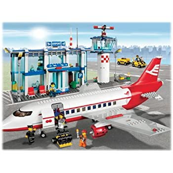 Lego City 3181 Passenger Plane Lego City Amazon Toys Games