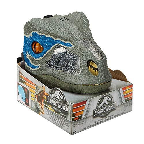 World Blau Von Jurassic Kostüm - Jurassic World 2 Soundeffekte Dinosaurier Maske FMB74 Jungen Spielzeug Geschenk BLAUBlau