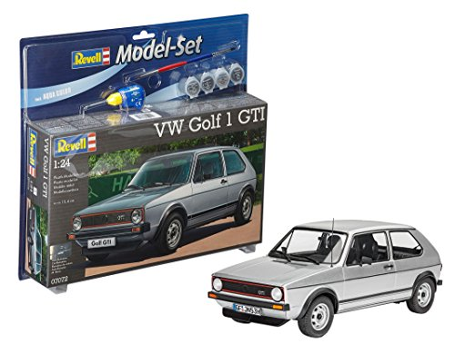 Revell - Maqueta Modelo Set VW Golf 1 GTI, Escala 1:24  (67072)