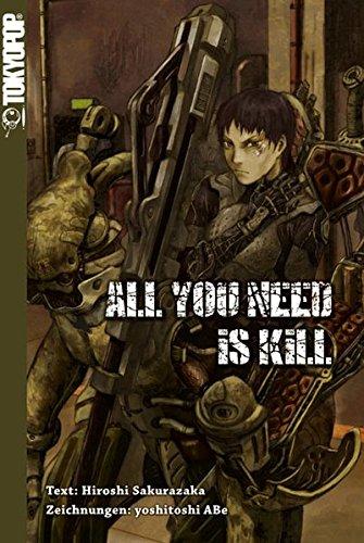 Buchseite und Rezensionen zu 'All You Need Is Kill Novel' von Hiroshi Sakurazaka