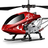 SYMA S107H-E Ferngesteuerter Hubschrauber RC Helicopter 3.5 Kanal 2.4 G LED Leucht...