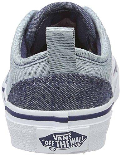 Vans  Yt Atwood Slip-on, Sneakers Basses garçon Bleu (Chambray)