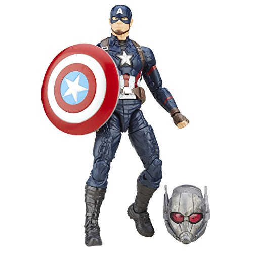 Capitán América: Civil War Marvel Legends: Captain America 15cm Figura de Acción