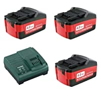 Metabo 3 x 4.0Ah Batteries ASC30-36 Charger Plus Inlay