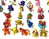 #2: Premium Pokemon Go Four Pokemon action figures size approx 6-10 cm ~Pokeball-Pikachu-Ash-Online-Original-avatars-toys-pokemon collection-accesories
