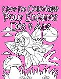 Livre De Coloriage Pour Enfants Dès 4 Ans Pour Les Filles