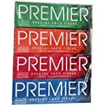 PREMIER Box FACE Tissue 100 PULLS 2PLY(Pack of 4)