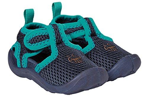 Lässig 1432001401 Beach Sandals Strandschuhe, Navy, Schuhgröße: 19, blau