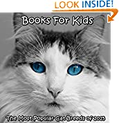 #8: Cats: The Most Popular Cat Breeds of 2015 (cats books for kids) (cat picture book)