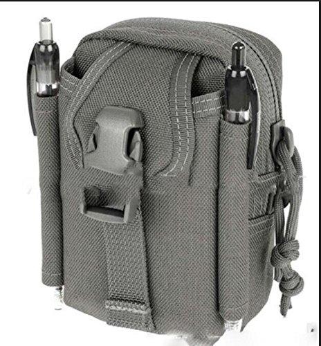 ZYT Camo outdoor Pocket Herren Multifunktions-Taschen drei taktischen Messenger portable Paket wasserfeste Mann Bag Umhängetasche gray