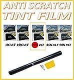 Best Window Tints - ANTI-SCRATCH PROFESSIONAL CAR WINDOW TINT FILM DARK SMOKE Review