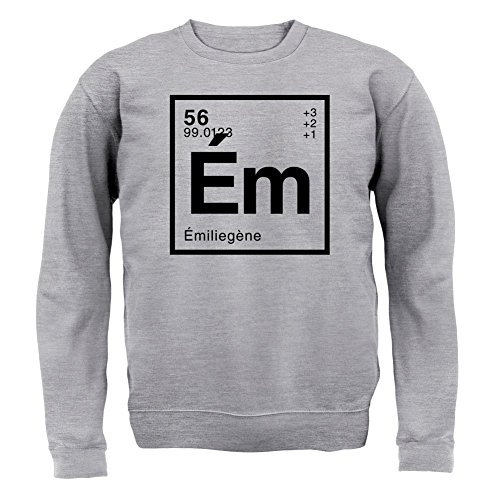 emilie-element-periodique-unisex-sweat-gris-m