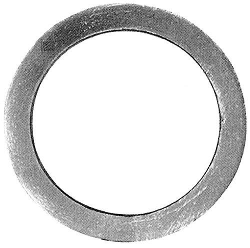 Cerchio in ferro battuto finitura liscia. diametro 100mm. sezione in quadro di 12mm.