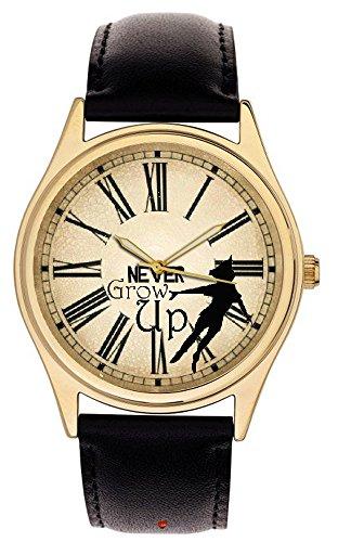 peter-pan-iconic-antico-orologio-arte-da-collezione-never-grow-up-adult-sized-orologio-da-polso