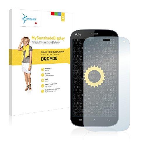 Vikuiti Bildschirmschutzfolie Matt DQCM30 von 3M für Wiko Darkfull Folie Schutzfolie Bildschirmfolie - Entspiegelt