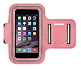 Active Elite Bracelet Sport/étui/coque pour iPhone 6/6S & 6Plus/6S Plus–Idéal pour le sport/Courir/Jogging rose 4.7 Zoll (Iphone 6/6s)
