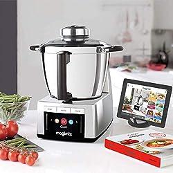 Magimix Cook Expert Chromé avec accessoires (spremiagrumi-centrifuga Cuisine Créative)