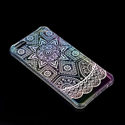 Apple iPhone 6/6S 4.7 Hülle, Voguecase Schutzhülle / Case / Cover / Hülle / Plating TPU Gel Skin (Kleine Gänseblümchen 10) + Gratis Universal Eingabestift Datura