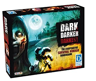 Queen Games 50032 - Dark Darker Darkest, Survival-Horror Spiel (B00EUVQVQM) | Amazon Products
